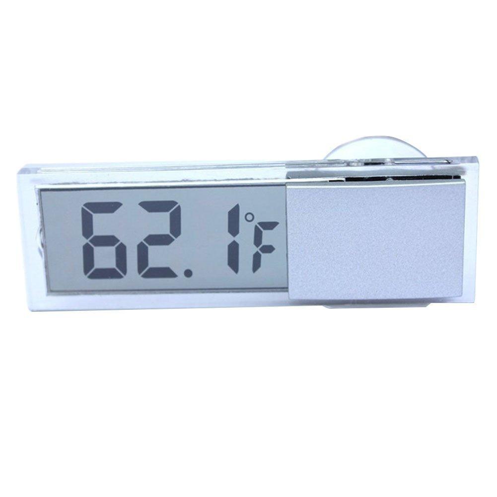Termometro de coches - SODIAL(R)Tipo de ventosa LCD Termometro digital montado en vehiculos Celsius Fahrenheit LEPAZIK4059