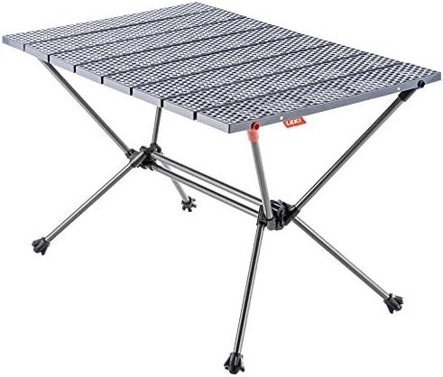 LEKI XS 16 x 23.5 Table Gunmetal