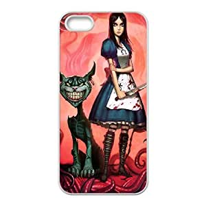iPhone 5,5S Phone Case Cover Alice in Wonderland ( by one free one ) A63957