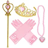Princess Belle Yellow Dress up Party Accessories