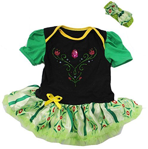 [Baby Anna Princess Coronation Costume (M (3-6m))] (Princess Costumes For Babies)