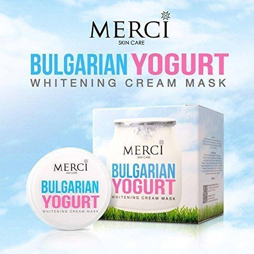 Merci Bulgarian Yogurt Whitening Cream Mask for All Skin Types 30ml. Review