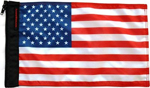 Measure Bimini Top (Forever Wave USA Flag)