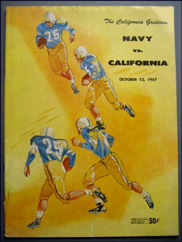 The California Gridiron Navy vs. California October 12, 1957