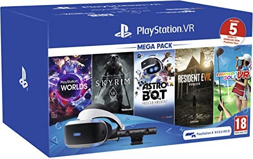 PLAYSTATION VR HEADSET WITH SKYRIM. NO