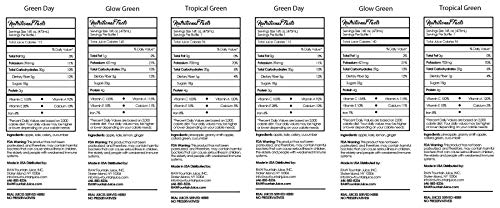 3 Day All Green Juice Cleanse by Raw Fountain - 100% Fresh Natural Organic Raw Green Juices -Give Your Body The Detox It Deserves! - 18 Bottles (16 fl oz) + 3 Bonus Ginger Shots (3 Day) by Raw Fountain   (Image #7)