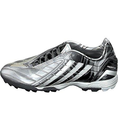 Adidas Performance Jungen Fußballschuhe Soccer 915624 Silber Schwarz
