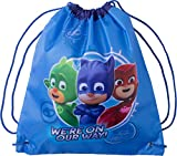 Cheap PJ Masks Drawstring Bag Children Travel Gym Drawstring Backpack Kids Swim Cinch Sack For Storage Traveling PJ Mask Backpacks Bags