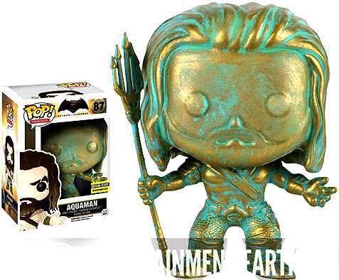 OPP Batman v Superman Dawn of Justice Aquaman Patina Pop Vin