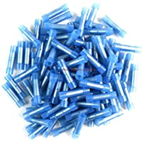 1000 pcs 16 - 14 Ga AWG Blue Nylon Butt Connectors Crimping Terminals Scosche