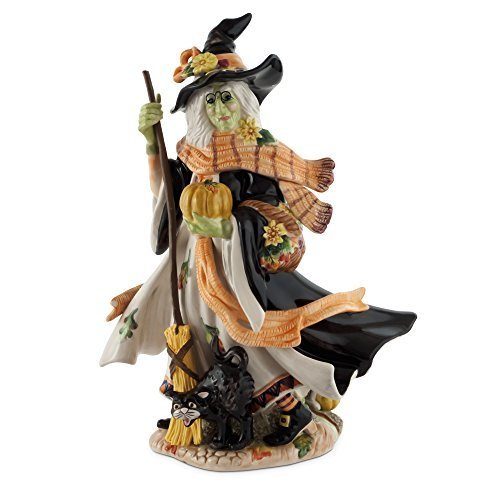 Fitz and Floyd Halloween Harvest Witch Figurine by Fitz and -