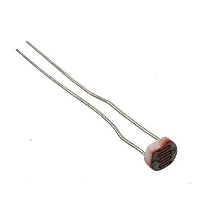 50 Pcs GL5537 Photoresistor LDR Photo Resistors Light-Dependent Lumière DC150V