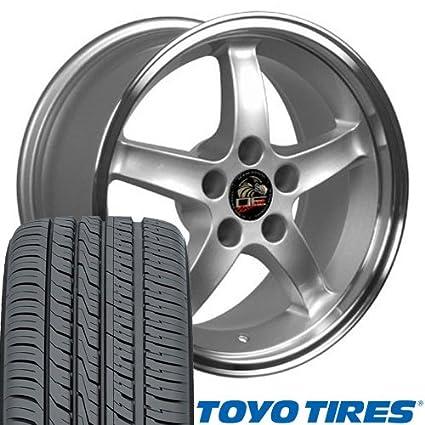 Amazon Com 17x9 17x10 5 Fits Ford Mustang Wheels Tires Cobra R