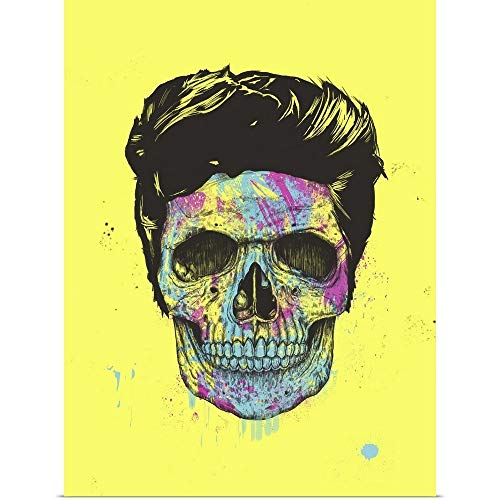 """GREATBIGCANVAS Poster Print Entitled Color Your Death by Balazs Solti 30""""x40"""" from GREATBIGCANVAS"""