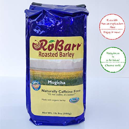 Roasted Barley Tea – Organic and Caffeine Free – Healthy Coffee Substitute - Also Known as Japanese Mugicha Or Korean Boricha – 1lb 8oz ()