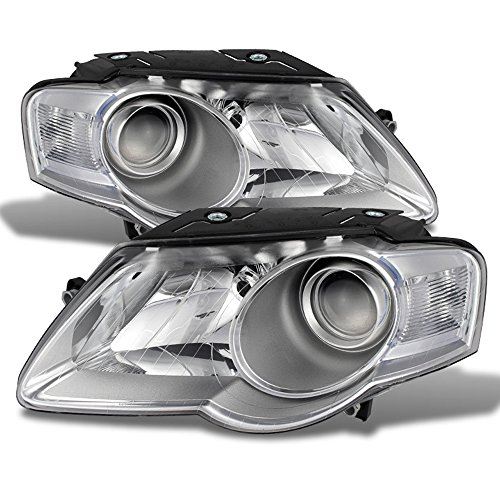 07 2008 2009 2010 Volkswagen VW Passat Headlights Headlamps Driver + Passenger Side ()