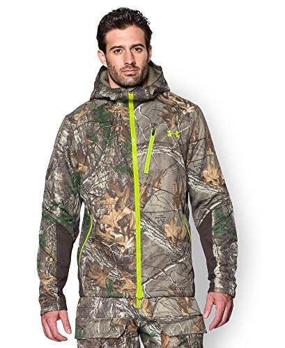 Under Armour Men's UA Storm Scent Control Barrier Hooded Jacket X-Large REALTREE AP-XTRA