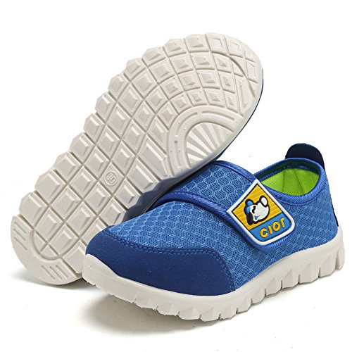 CIOR Kid's Mesh Lightweight Sneakers Baby Breathable Slip-On For Boy and Girl's Running Beach Shoes(Toddler/Little Kid) 16