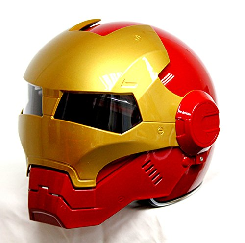 masque de moto ironman cadeau original insolite pourri. Black Bedroom Furniture Sets. Home Design Ideas