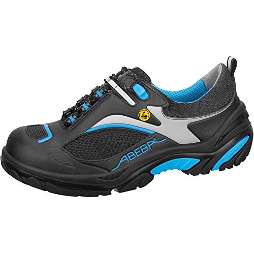 "Abeba 34511-46 talla 46 ""ESD-Crawler"" zapato seguridad bajo - negro/azul"