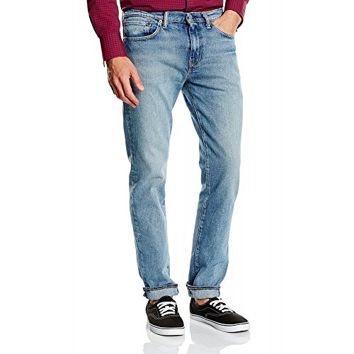 511 Fit Slim Uomo Slavato Levi's Da Jeans Celeste dxCwqPp