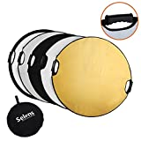 SELENS 5-IN-1 HANDLE 43 IN (110CM) REFLECTOR REDONDO PARA FOTOGRAFÍA PHOTO STUDIO LIGHTING & OUTDOOR LIGHTING