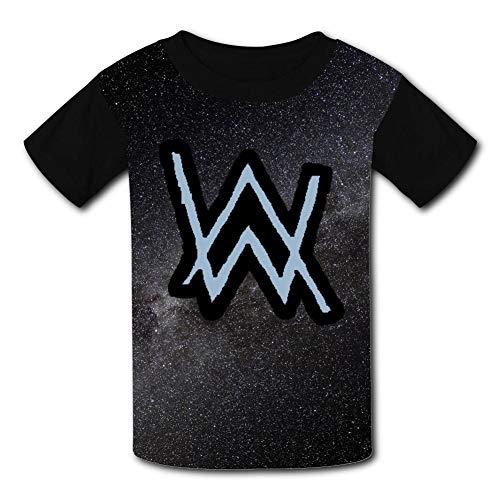 - Kid/Youth Alo-ne Al-len Wa-lker Music T-Shirts 3D Casual Short Sleeve O-Neck Tees Black