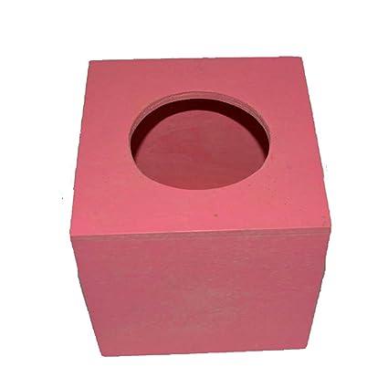 QWASZX Caja Del Tejido Caja Del Cajón Clásico Caja De Madera Práctico El Tejido