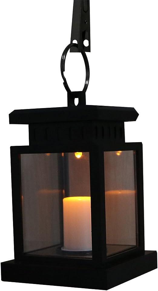 Powstrol - Farol solar LED para vela, resistente al agua, sin ...