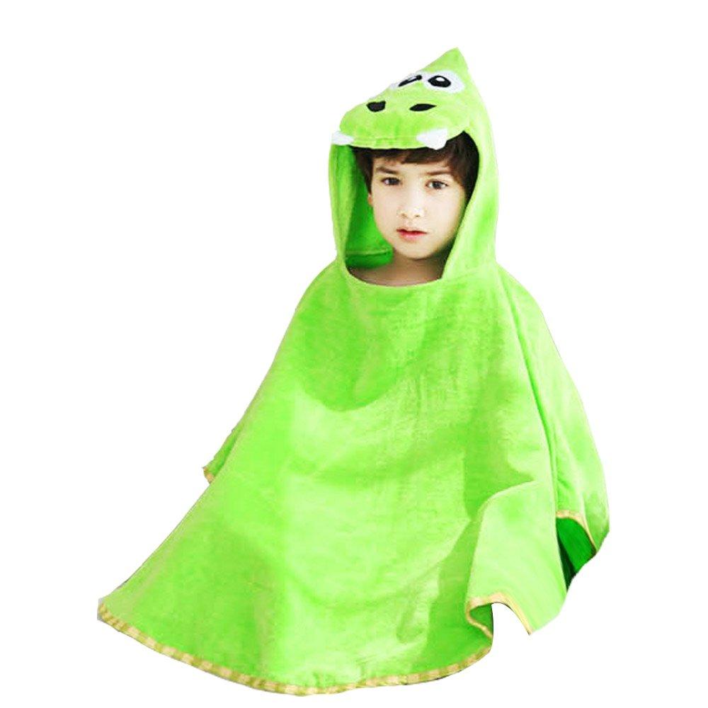 yaode Children Hooded Poncho Unicorn Baby Towel Super Soft Cartoon Bathrobes Swim Beach Bath Towel Unicorn3, M