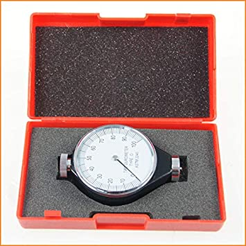 Durómetro del metro del neumático del carro del coche del probador de la dureza de la pequeña tierra 40112912 tipo O: Amazon.es: Bricolaje y herramientas