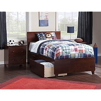 atlantic furniture ar8116111 orlando bed solid hardwood twin xl