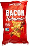 Late July Bacon Habanro Clasico Tortilla Chip, 5.5 Ounce (Pack of 12)