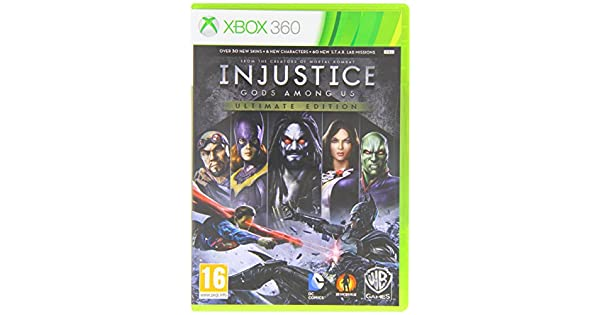 Injustice: Gods Among Us Ultimate Edition (XBOX 360) [importación ...