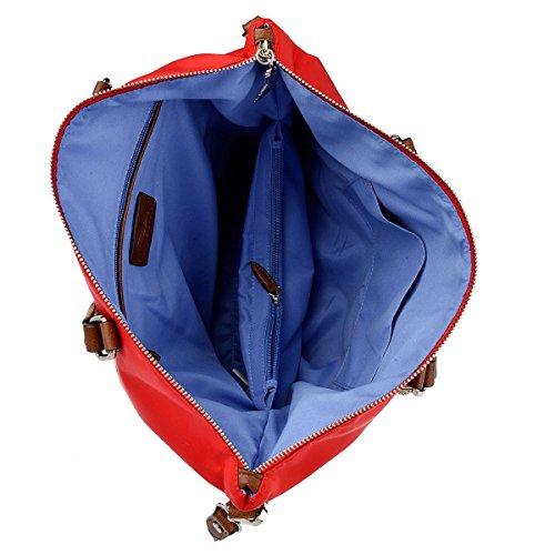 WAIPUNA Shopper Kanalana Handtasche Nylon Rot