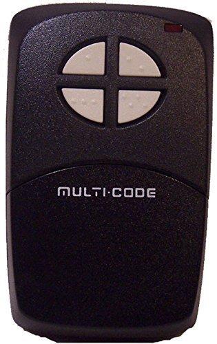 - MULTI-CODE Garage Door Opener 1097 Four Button Remote Control Transmitter
