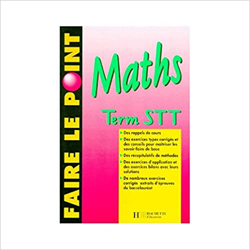 Lire un Maths, term STT pdf