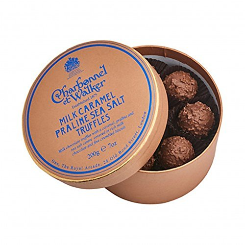 Milk Praline (Charbonnel et Walker Sea Salt Praline Milk Caramel Truffles, 7 Ounce)