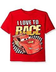 Disney Boys' Cars Lightning McQueen T-Shirt