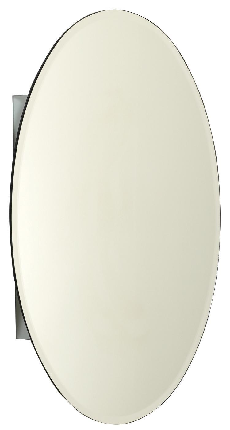 Oval Mirror Medicine Cabinet Amazoncom Zenith Mva2030 Oval Beveled Medicine Cabinet 20 Inch