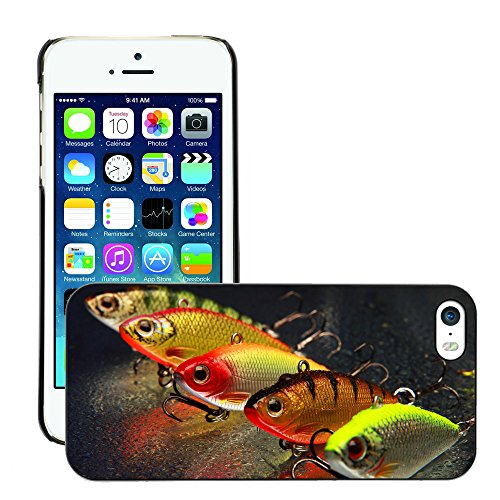 Premio Sottile Slim Cassa Custodia Case Cover Shell // V00002602 Leurres de pêche // Apple iPhone 5 5S 5G