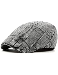 234d558d Men's Newsboy Gatsby Hat Vintage Beret Flat Ivy Cabbie Driving Hunting Cap  for Boyfriend Gift