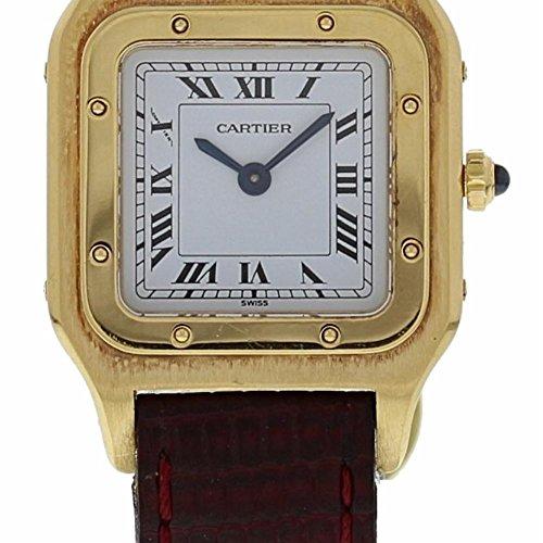 Cartier Santos Dumont Mechanical-Hand-Wind Womens Watch (Certified Pre-Owned)