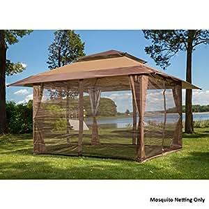 Mosquito Netting Screen for 10' x 10' Gazebo