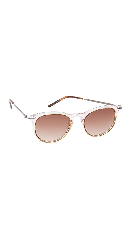 004 004 AVANA RUTHENIUM BROWN Sunglasses Tomas Maier TM 0006 S