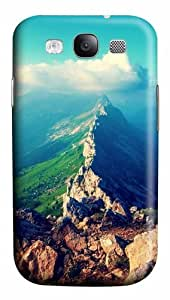 Samsung Galaxy S3 Case Cover - Mountain Ridge 3D PC Hard Back Cover for Samsung Galaxy S III / Samsung S3/ Samsung i9300