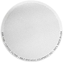 Able Brewing Disk Fine Coffee Filter for Aeropress Coffee & Espresso Maker - Stainless Steel Reusable