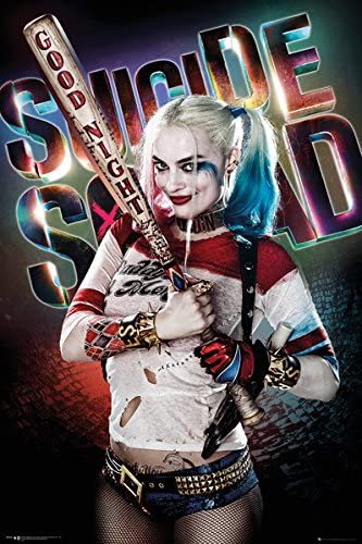 T524 Harley Quinn Suicide Squad DC Superheroes Movie Hot Poster 27x40in Print
