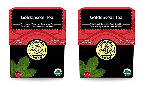 Organic Goldenseal Herb Tea Caffeine