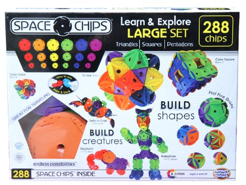 ts Space Chips Learn and Explore Large Set (288 Pieces) ()